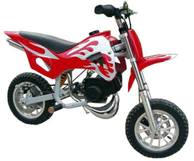 achat d'une dirt bike 125